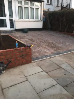 Driveway In Altrincham, Manchester UK