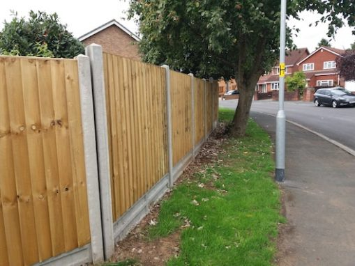 Fencing Altrincham, Manchester - PD Drives & Patios